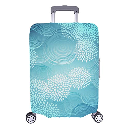 Big Luggage Cover Abstract Art Decorative Style Durable Washable Protecor Cover Fits 28.5 X 20.5 Inch Luggage Hard Cover Baggage Handle Cover Best Luggage Cover