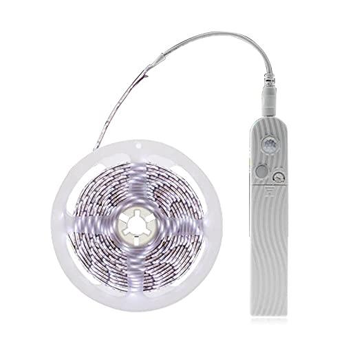 Taitan LED debajo del gabinete iluminación sensor de movimiento cama escaleras armario lámpara cinta impermeable 5V USB LED armario noche tira luz