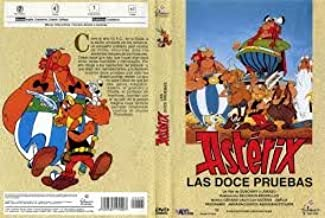 Astérix y las doce pruebas [Internacional] [DVD]