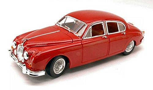 Burago BU12009R Jaguar Mark II 1959 Red 1:18 MODELLINO segunda mano  Se entrega en toda España