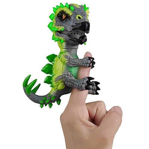 Untamed Fingerlings WowWee Radioaktive Dinos-Serie ohne Zähmung, Stegosaurus