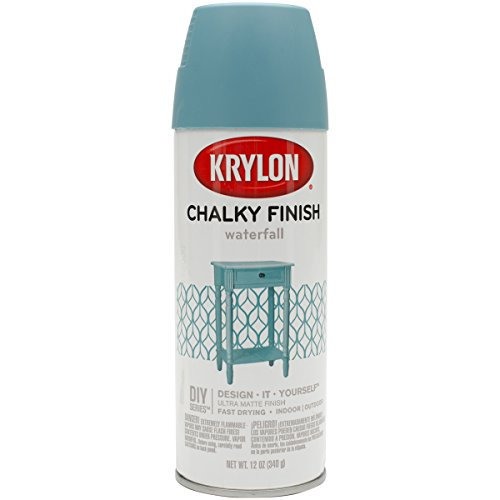 Krylon K04112000 Spray Paint, Aerosol, Waterfall, 12 Oz