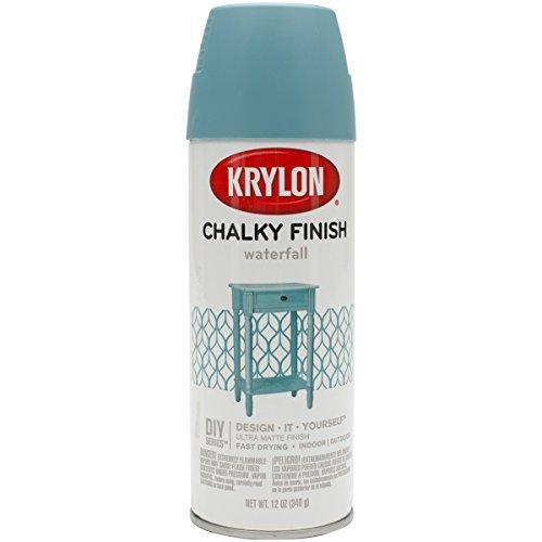 Krylon K04112000 Spray Paint, Aerosol, Waterfall, 12 Ounce