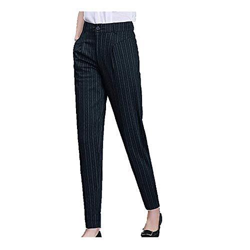 U/A verano y otoño ocio de las mujeres de cintura alta pantalones delgados