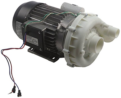 Olympia T15 Pumpe für Spülmaschine Krupps Koral-800, Koral-1100 1,1kW 230V Eingang ø 50mm Ausgang ø 48mm Länge 295mm 50Hz