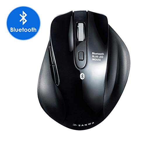 SANWA (Japan Brand) Bluetooth Vertical Ergonomic Mouse,...