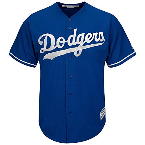 Outerstuff MLB 8-20 Youth Blank Cool Base Alternate Color Team Jersey (Medium 10/12, Los Angeles Dodgers Alternate Blue)