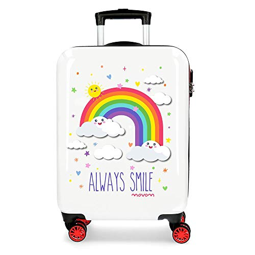Movom Arcoiris Always Smile Hartschalenkoffer, 55 cm