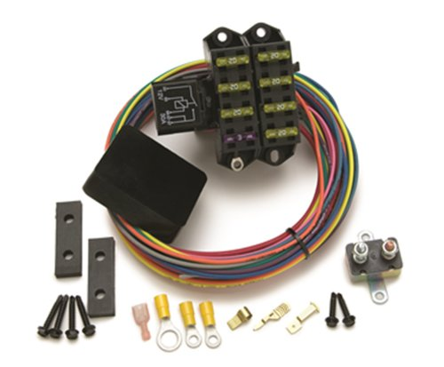 Painless Performance 70207 Weatherproof Cirkit Boss Auxillary Fuse Block, 7-Circuits (3 Constant/4 Ignition)