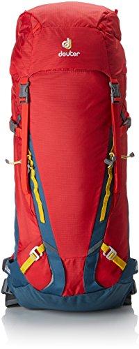 Deuter Guide 35+, Mochila Unisex Adulto, Rojo (Fire/Arctic), 24x36x45 cm (W x H x L)