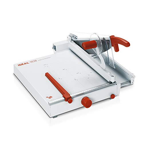 IDEAL Präzisions-Hebelschneidemaschine - Schnittlänge 385 mm - ohne Untergestell - Hebelschneider Langschneider Papierschneidemaschine Papierschneidemaschinen Präzisions-Schneidemaschine Schneidemaschine Schneidemaschinen Stapelschneider