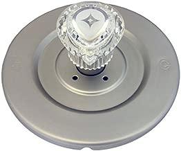 Simpatico, Satin Nickel 31661SN Moen Shower Chateau Series Trim Kit with Brass Escutcheon Screws Tube and Handle