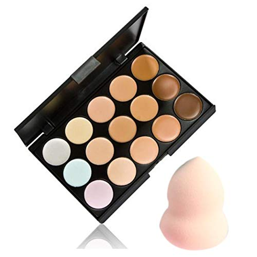 Crayon Contour Correcteur 15 Couleur Facial Visage Crème Soins Camouflage Contouring Base De Maquillage Outil Cosmétique - 15 Couleurs