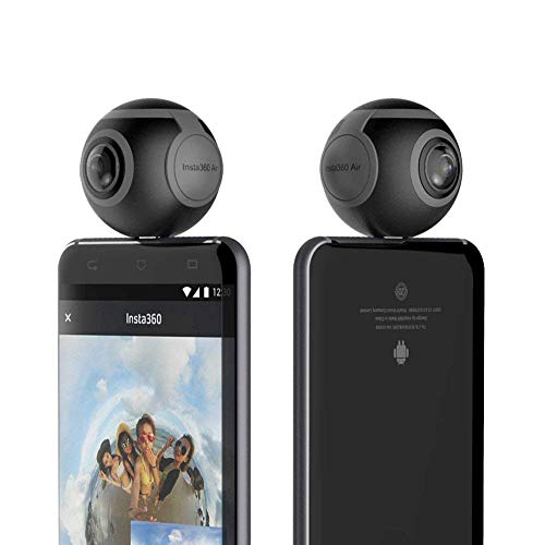 Insta360 Air - 360 VR Camera for Android Phone (Type-C Connector), Black (Insta360 Air (Type-C) - CINMAIR/A)