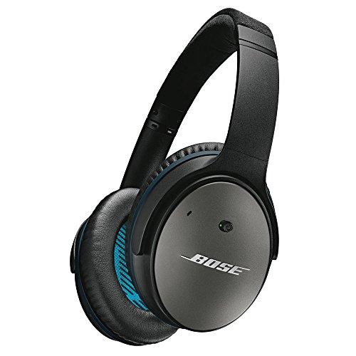 【国内正規品】Bose QuietComfort 25 アラウンドイヤーノイズキャンセリングヘッドホン iPhone・iPod・iPad対応リモコン・マイク付き ブラック QuietComfort25 BK