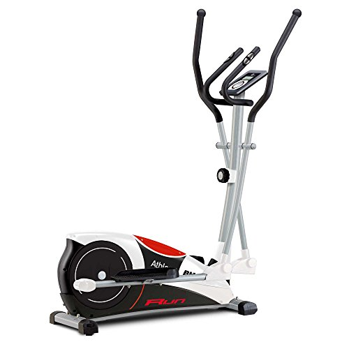 BH Fitness Athlon Run Elliptical cross trainer - Inertial system 22lbs. Complete workout! Magnetic brake system. White - G2334RF