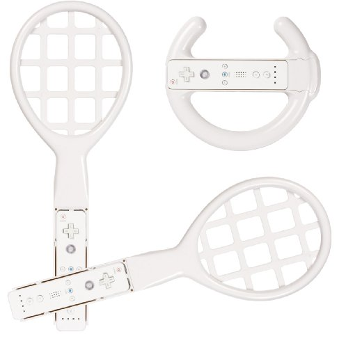 Wii Racing Tennis Set