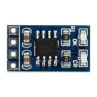 リチウム電池充電ボードLiPo Li-ionバッテリー充電器18650マイクロMPPT過電圧保護付きソーラー充電モジュール1A 4.2V 3.7V(Without Pin)