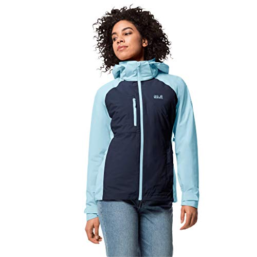 Jack Wolfskin Damen Mount Emin 3-in-1 W, Midnight Blue, XL