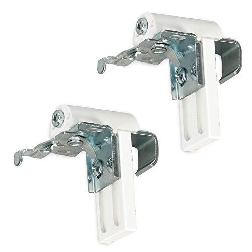 Sol Royal Universal-Klemmträger für JH3 - Klemmfix Montage ohne Bohren für Fenster bis Falzstärke von bis zu 25 mm