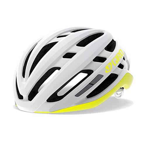 Giro Damen Agilis W Fahrradhelm Road, matte white/citron, S | 51-55cm