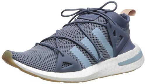 adidas Originals Women's Arkyn, raw Steel/ash Grey/White, 9 M US