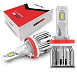 LASFIT H11 H8 H9 LED Bulbs, 6000K Cool White LED Conversion Kit for Low Fog Light Bulbs, Easy to Install Plug and Play Halogen Upgrade-2Pcs