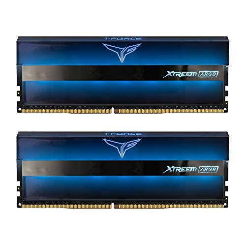 Team T-Force Xtreem ARGB - DDR4-16 GB: 2 x 8 GB - DIMM 288-PIN - ungepuffert