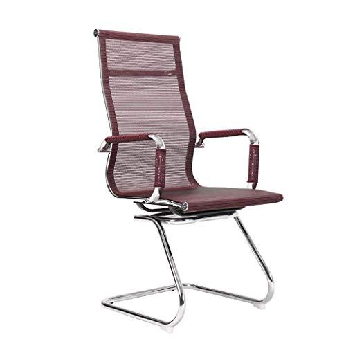 Bürostuhl Mesh Modern Minimalist Chair, Konferenzstuhl Drehstuhl Rücksitz Atmungsaktiver Boss Stuhl
