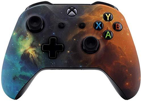Mando inalámbrico para Xbox One para Microsoft Xbox One, tacto suave y personalizado, mando de Xbox One (vibrante universo)