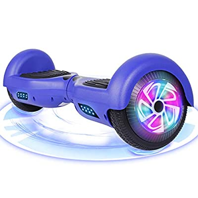 FLYING-ANT Hoverboard, 6.5 inch Self Balancing Electric Scooter with Safe UL2272 Certified, Segway for Kids and Adult, Great Gifts (Blue-no bluetooth)