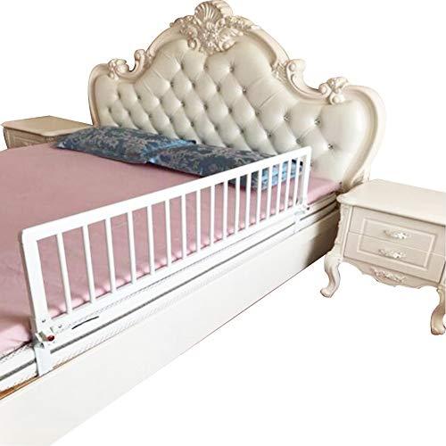 XJJUN-Barandillas para camas Cerca De Bebé A Prueba De Caídas Doblada Madera Maciza Barandilla La Seguridad Durable Adecuado para Ancianos Y Niños,9 Tallas,2 Colores