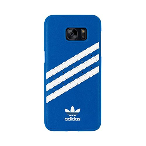 adidas Originals 25094 Moulded Case für Samsung Galaxy S7 Edge blau/weiß