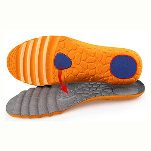 YFQHDD Plantillas Deportivas Unisex para Zapatos Sole Desodorante Absoleador de Descarga de Impactos Soft Soft Mesh Baloncesto Pastillas de Baloncesto Inserto (Color : 2 Pairs, Size : S EU 35-40)