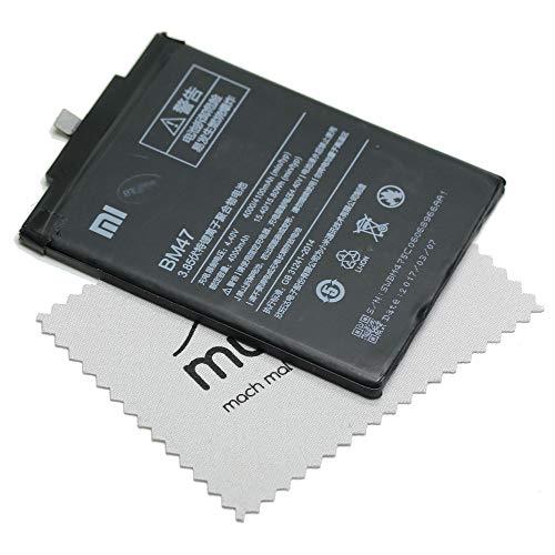 Batería para Xiaomi Original BM47 para Xiaomi Redmi 3 + paño mungoo