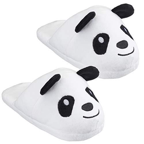 Bada Bing Kuschel Hausschuhe Slipper Panda Pandabär Plüsch Bär Pantoffel Kinderschuh Kinder Die Schuhe Fallen Klein Aus Geschenk (Slipper Panda 32/33) 78