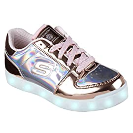Skechers-Energy-Lights-Shiny-Sneaks-Zapatillas-para-Nias