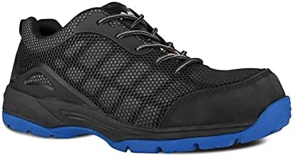 Acton, Profusion (A9234-16) | Black & Blue| Work Safety Shoes| Very lightweight | Metal Free | CSA & ESR Certified | Composite toe protection