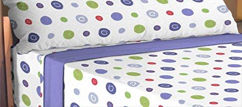ForenTex - Juego de sabanas de 3 piezas, (LL-4030), cama 135 cm, máxima transpiración y frescura, estampadas, baratas, de microfibra, set de cama. 1-4 sábanas microfibra paga solo un envío, descuento equivalente al finalizar la compra.
