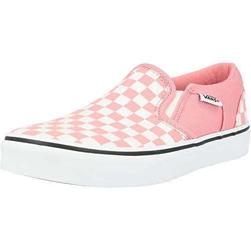Vans Damen Asher Sneaker, Pink ((Checkerboard) pink Icing/White WF9), 38 EU