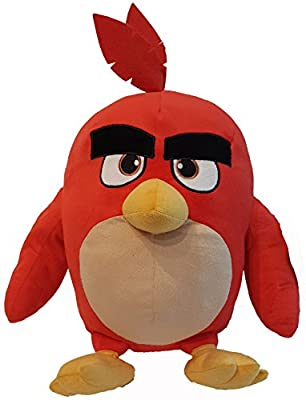 """4SGM 14"""" Angry Birds Red Pillow Buddy, Multicolor, 16 inch"""