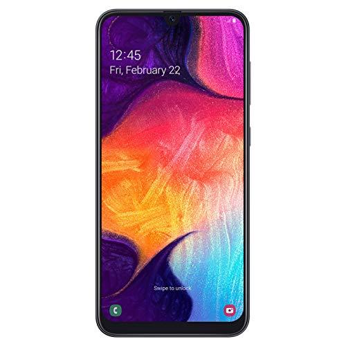 Samsung Galaxy A50 Smartphone (16.3cm (6.4 Zoll) 128GB interner Speicher, 4GB RAM, Black) - A505F