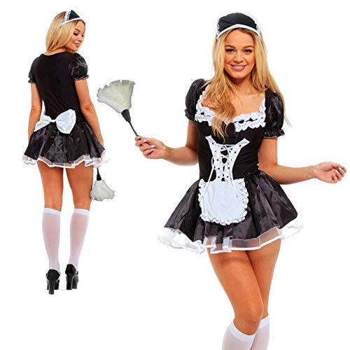 French Maid & Feather Duster 5XL