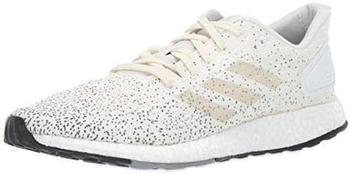 adidas Women's Pureboost DPR Running Shoes, White/raw White/Grey, 8.5 M US