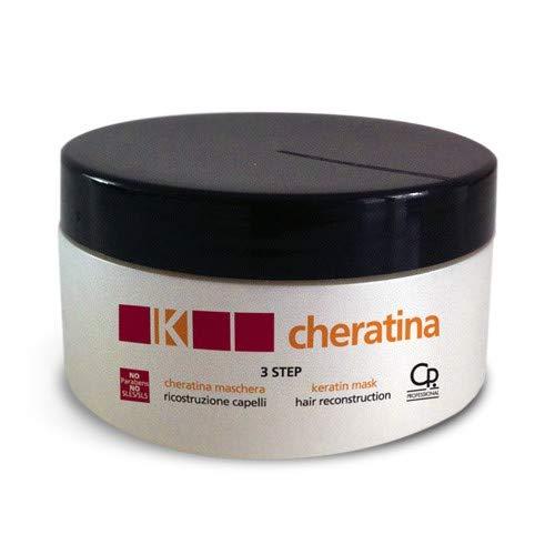 K-Cheratina - Maschera Ricostruzione - Trattamento Professionale con Cheratina per Ristrutturazione Capelli Danneggiati - Favorisce la Rigenerazione - 300 ml