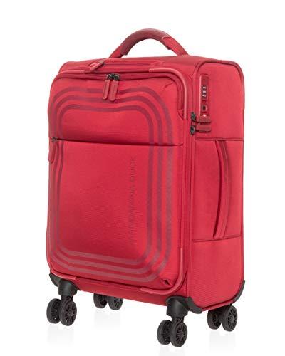 Mandarina Duck Bilbao Soft Side Spinner Luggage - TSA Lock, 22-Inch, Carry On