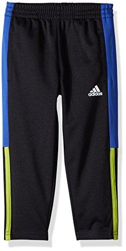 adidas Boys' Toddler Striker Pant, Black/Yellow/Multi, 3T