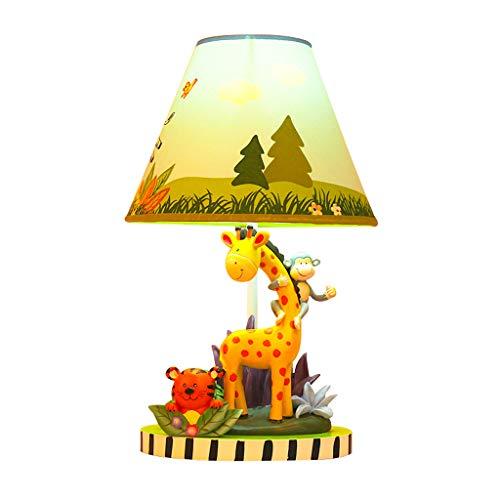 Good home Enfants Animaux Lampe De Table Garçon Chambre Chambre Lampe De Chevet Dessin Animé Mignon Dessin Animé Décoratif Chaud Lampe Étudiant Liseuse