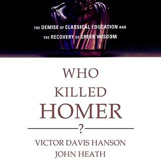 Who Killed Homer? audiobook cover art