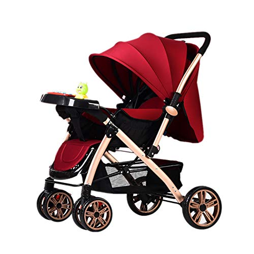 Best Review Of Cylficl Baby Stroller Lightweight Folding Baby Carriage 0/1-3 Years Old Simple Portab...